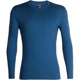 Icebreaker M's 200 Oasis LS Crewe Shirt Prussian Blue